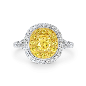 Cushion Cut Annabelle diamond ring