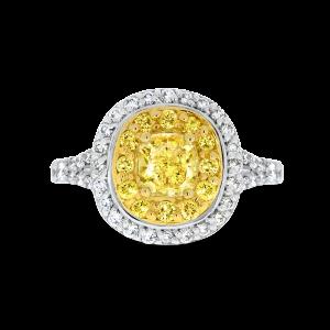 Cushion Cut Annabelle diamond ring