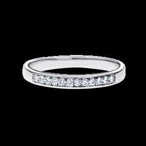 12 Round brilliant-cut diamond band