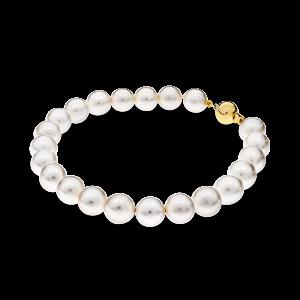 White Akoya pearl bracelet