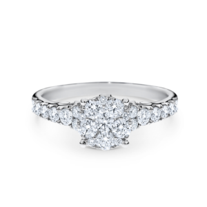 A5021 Ellery Engagement Rings Solitaire wirth shoulder stones