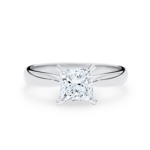 NORA Princess cut solitaire Engagement Rings Solitaire