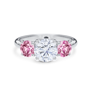 Simone Pink Diamond Fine Jewellery and Engagement Rings Trilogy