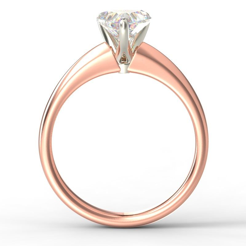 ADELE HEART ROSE GOLD TOP