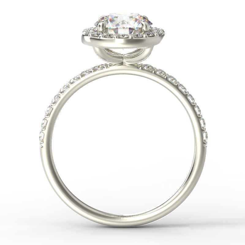 ALLURE ROUNDBRILLIANTCUT WHITE GOLD TOP