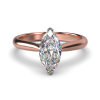 HARPER MARQUISE ROSE GOLD 2PRONG FRONT