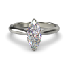 HARPER MARQUISE WHITE GOLD 2PRONG FRONT
