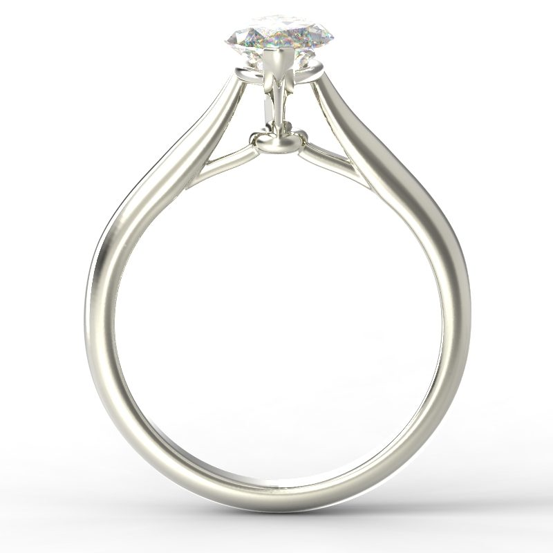 HARPER MARQUISE WHITE GOLD 2PRONG TOP