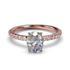 LEONA OVAL ROSE GOLD FRONT