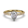 LEONA PEAR YELLOW GOLD FRONT