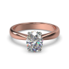 SAVANNAH OVAL ROSE GOLD FRONT 1