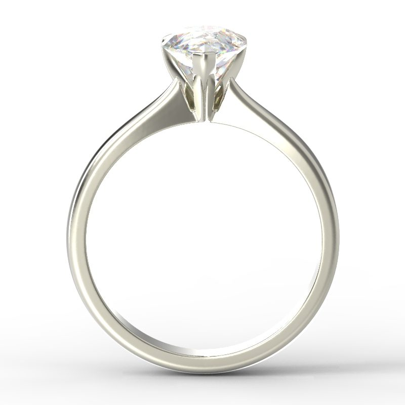 SAVANNAH PEAR WHITE GOLD TOP