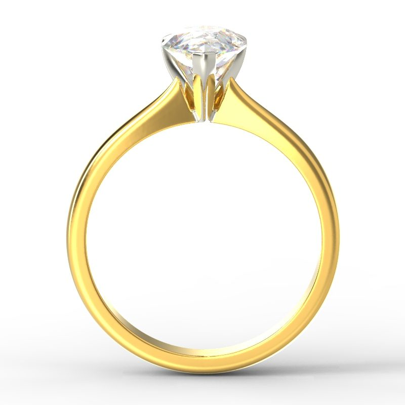 SAVANNAH PEAR YELLOW GOLD TOP