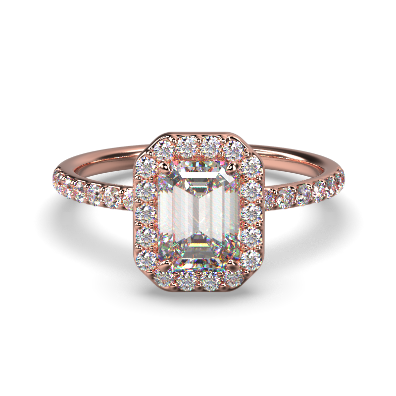 ALLURE EMERALD ROSE GOLD FRONT 1