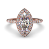 ALLURE MARQUISE ROSE GOLD FRONT 1