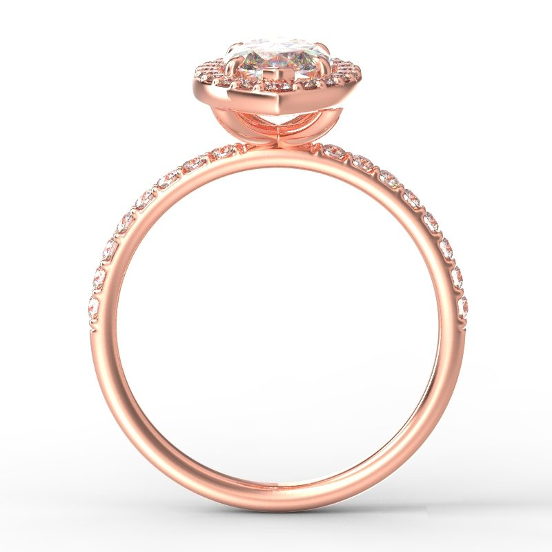 ALLURE MARQUISE ROSE GOLD TOP