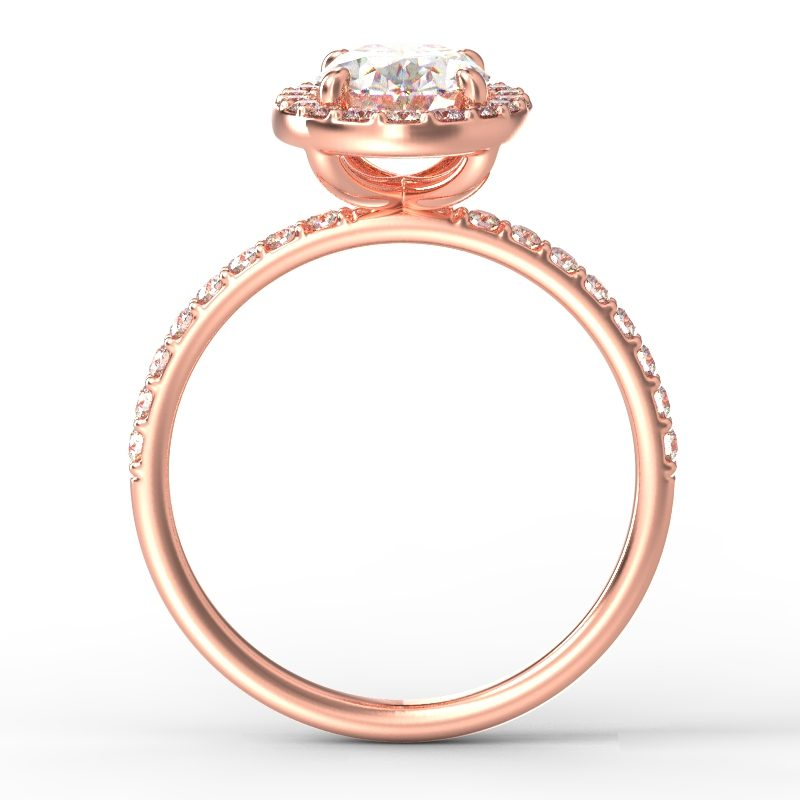 ALLURE OVAL ROSE GOLD TOP 1