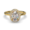 ALLURE OVAL YELLOW GOLD FRONT 1