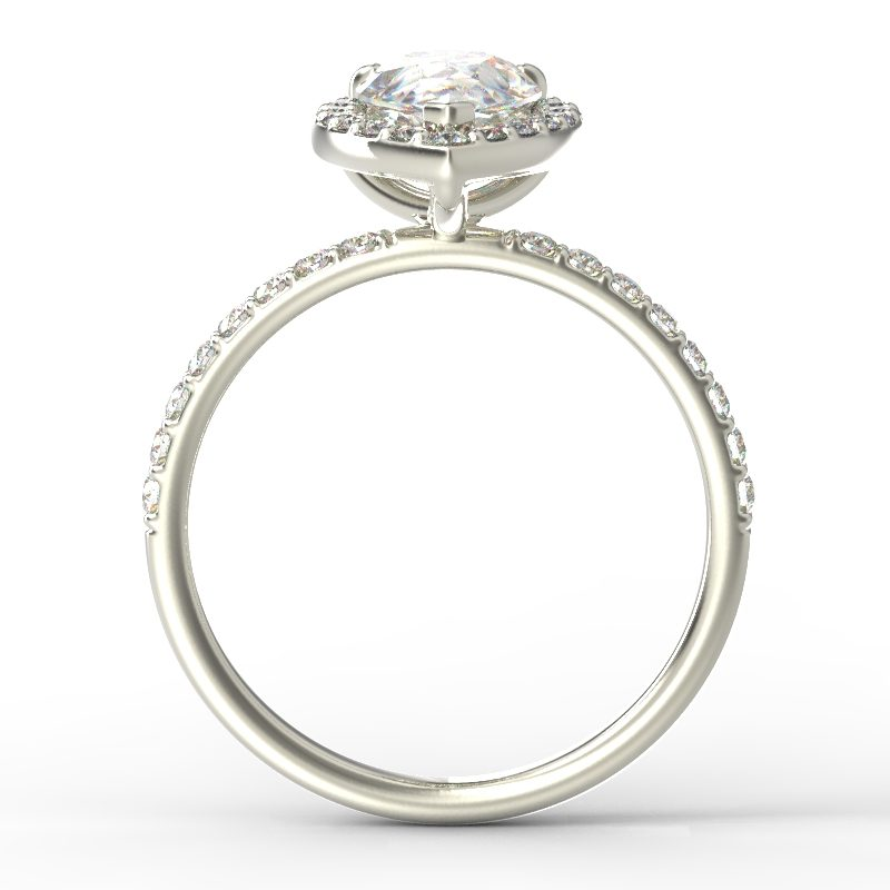 ALLURE PEAR WHITE GOLD TOP