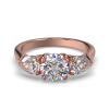 MIA ROUND PEARSIDES ROSE GOLD FRONT